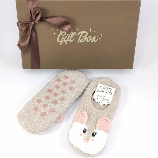 "Poklon paket ""Cosy Socks"" čarape i novčanik box 00083-1"
