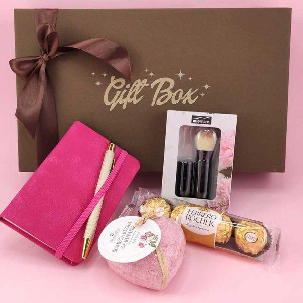 Poklon kutija Beauty pink Box 00087-1